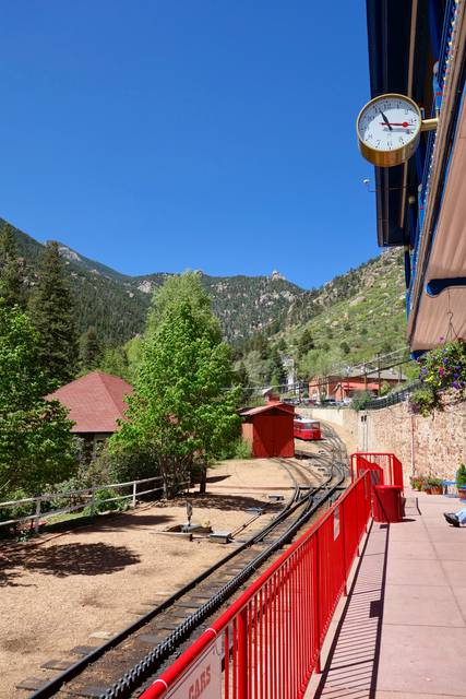 Pike's Peak Cog Railway Station