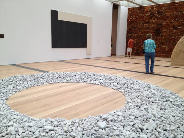 Mississippi Circle (1988), Richard Long