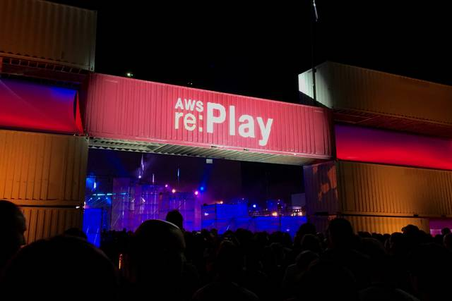 AWS re:Play 2015