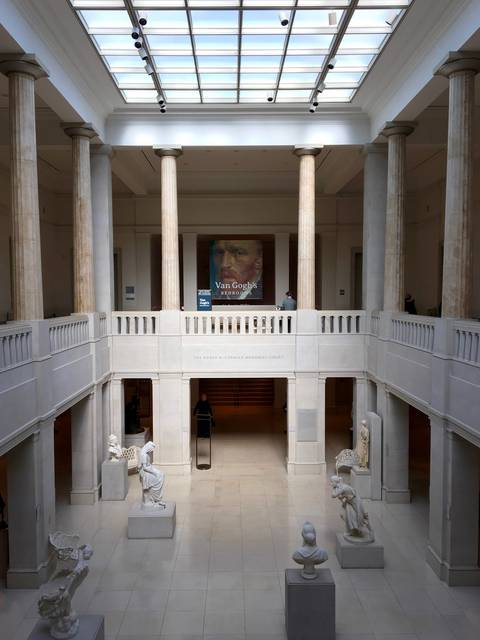 The Roger McCormick Memorial Court at the Art Institute of Chicago