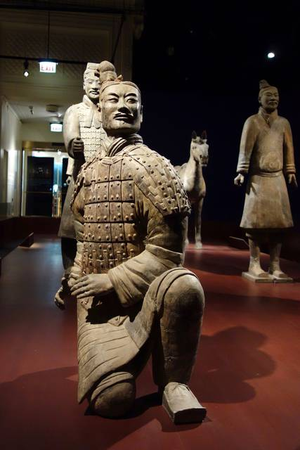 Terracotta Warrior of China's First Emperor at the Field Museum