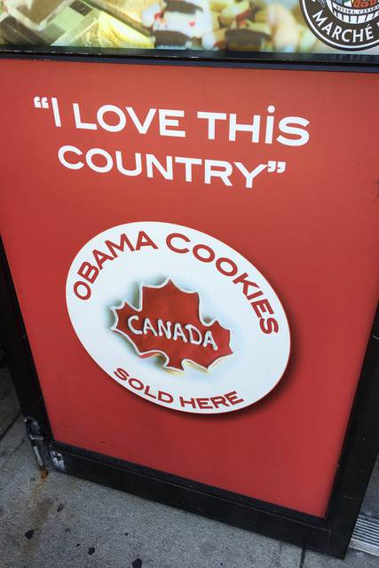 Obama Cookies at ByWard Market