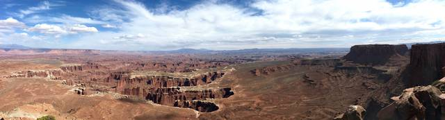 Grandview Point Overlook, Canyonlands National Park